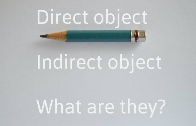 Direct and indirect object in Spanish