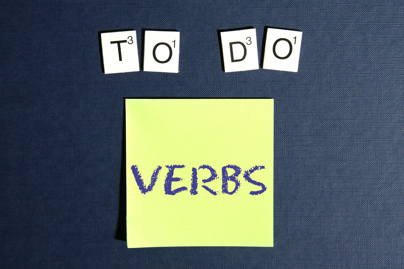 Verbs for beginners  - where to start
