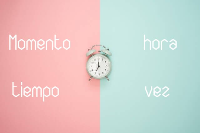 "How to translate ""time"" in Spanish"